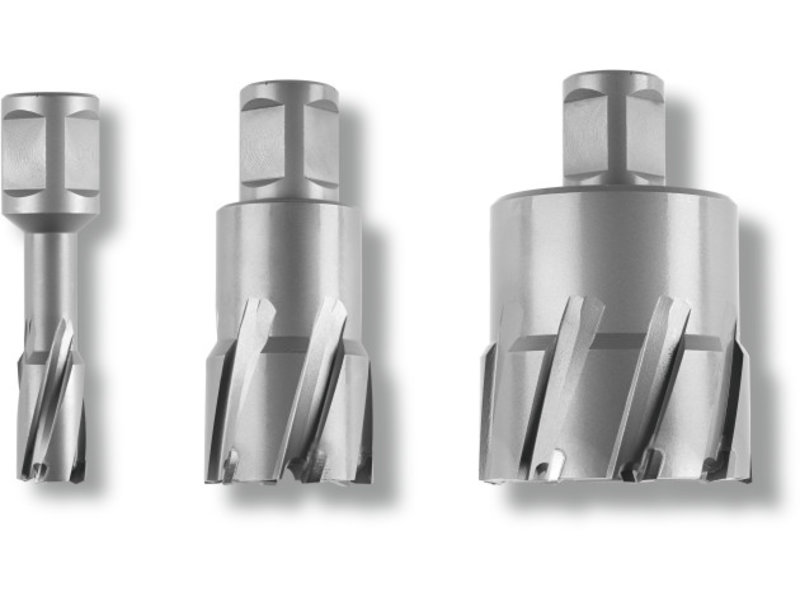 TCT Ultra 50 core bit with Weldon holder