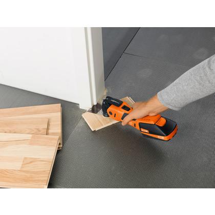 SuperCut Construction - Profesjonalny zestaw FEIN do prac wykończeniowych i stolarskich