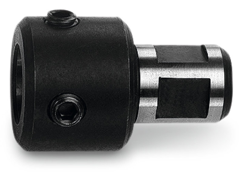 Adapter with 3/4 in Weldon shank