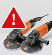 Important safety notice for WSG range