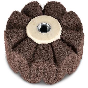 Sine fleece sanding cylinder