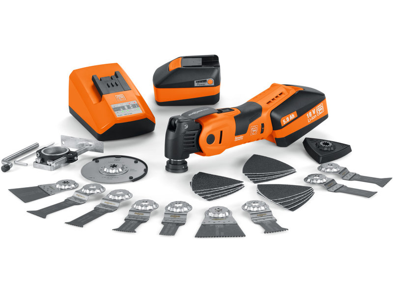 SuperCut Construction - Kit profissional FEIN para acabamentos de interiores em madeira